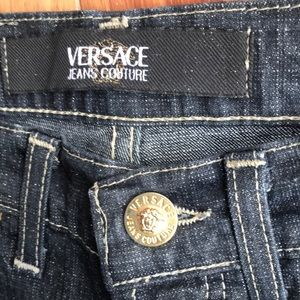 Versace Jeans Couture Glitter Jeans Sz:27/ NWT